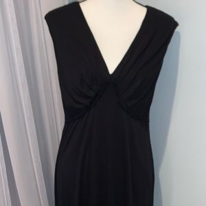 Calvin Klein little black dress women's size large